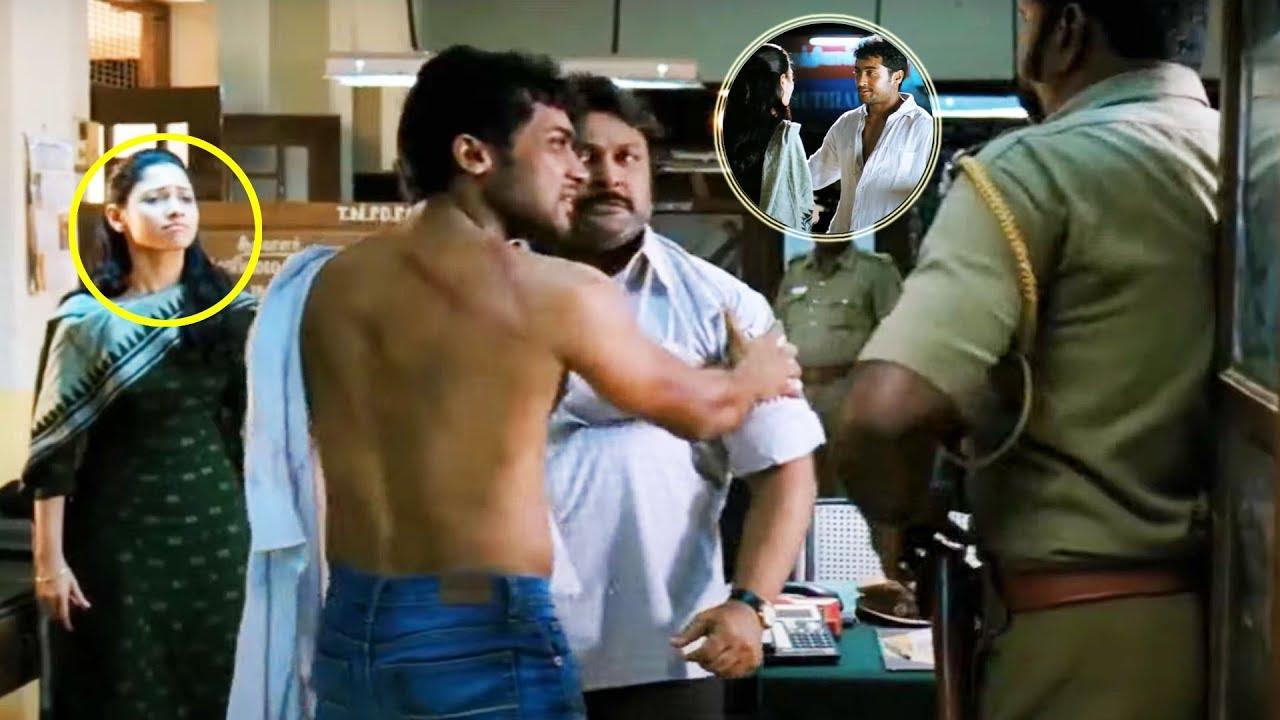 Download Suriya, Tamannaah, K V Anand Telugu Super Hit Movie Part -8 | VeedOkkade | Vendithera