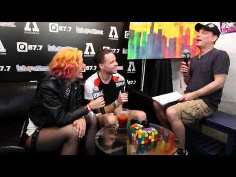 wALT Interviews MS MR Backstage At Lolla 2013