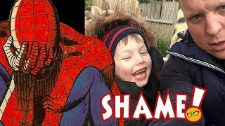 Disney Bans Grieving Father's Spider Man Memorial for Son