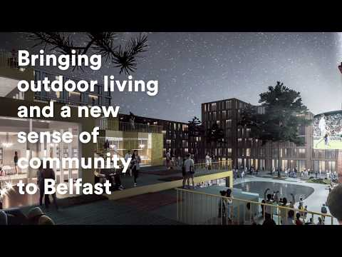 Belfast Gets a New Harbour Front Inspired by Copenhagen