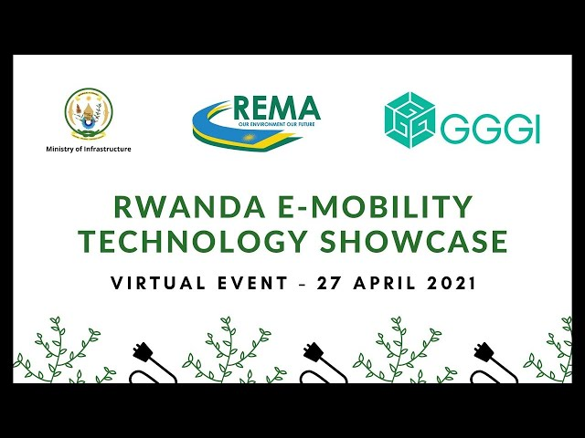 Rwanda Electric Mobility Showcase Highlights