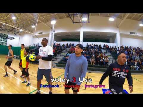 Voley 3 Usa Cristian C. Vs Marcos S. Ecuavoley Massachusetts 2018