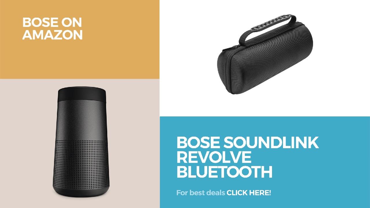 bose bluetooth speakers amazon. bose soundlink revolve bluetooth speaker // get your new on amazon speakers