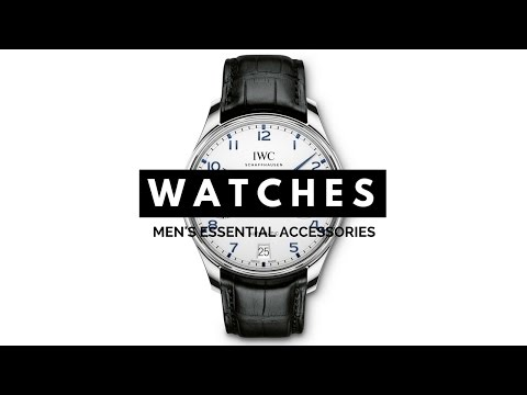3 Watches Every Man Should Have - Dress, Chronograph, Diving, Sport - IWC, Rolex, Omega, Nomos