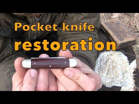 Vintage pocket knife restoration !