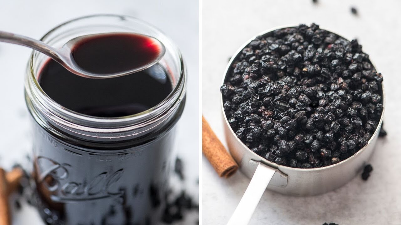 Elderberry Syrup Recipe - How to make it on the stove