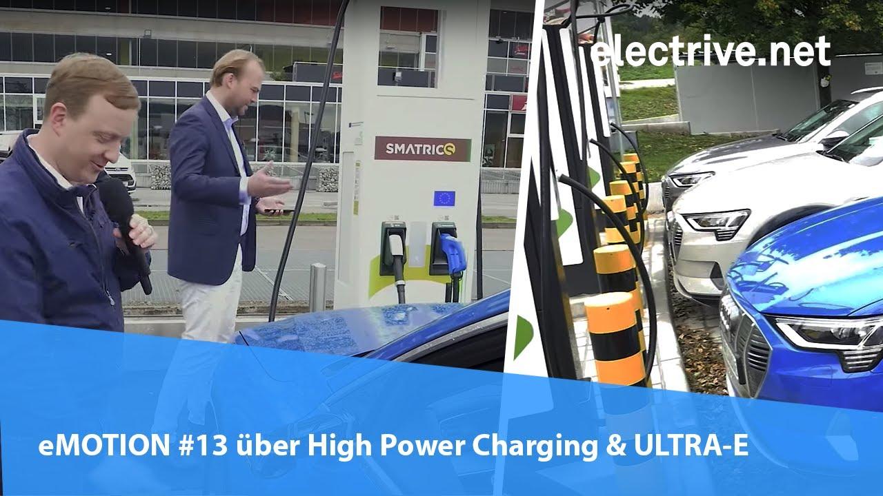 Download eMOTION #13 über High Power Charging bei ULTRA-E