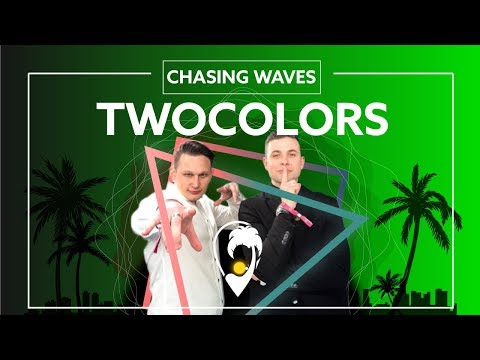 Twocolors - Chasing Waves (Ft. Sofia Dragt) [Lyric Video]