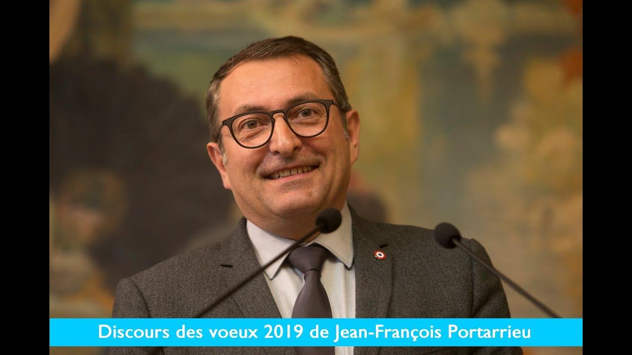 JEAN-FRANCOIS PORTARRIEU - VOEUX 2019