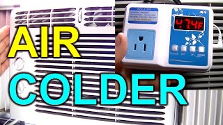 How to Make Your Window Air Conditioner Colder Without Freezing and Icing Up WILLHI WH1436A