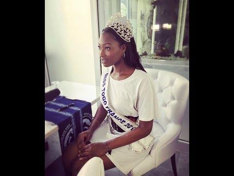 Lumière sur Marina Ajavon, Miss Togo France 2017 à Lomé