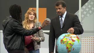 How far is the Moon from the Earth? Neil de Grasse Tyson