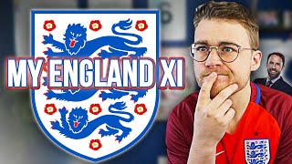MY ENGLAND XI FOR EURO 2020