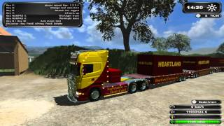 FS 2011 Custom Scania R730, Peterbilt 379 & Container Forklift :: HD 1080p