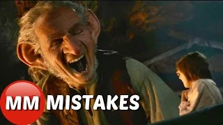 The Big Friendly Giant Movie Mistakes You Didn't See The BFG