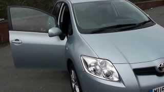 WU58VRY USED TOYOTA AURIS TR in Blue at Wessex Garages, Pennywell Rd, Bristol