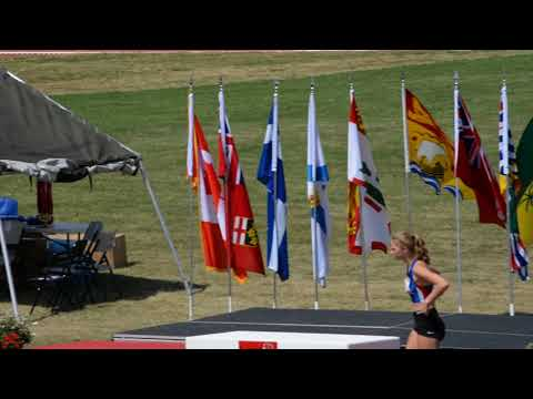 ROYAL CANADIAN LEGION YOUTH NATIONALS 2017 YOUTH GIRLS 200M