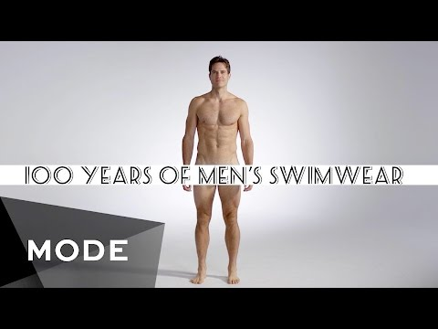 100 Years of Fashion: Men's Swimwear ★ Glam.com