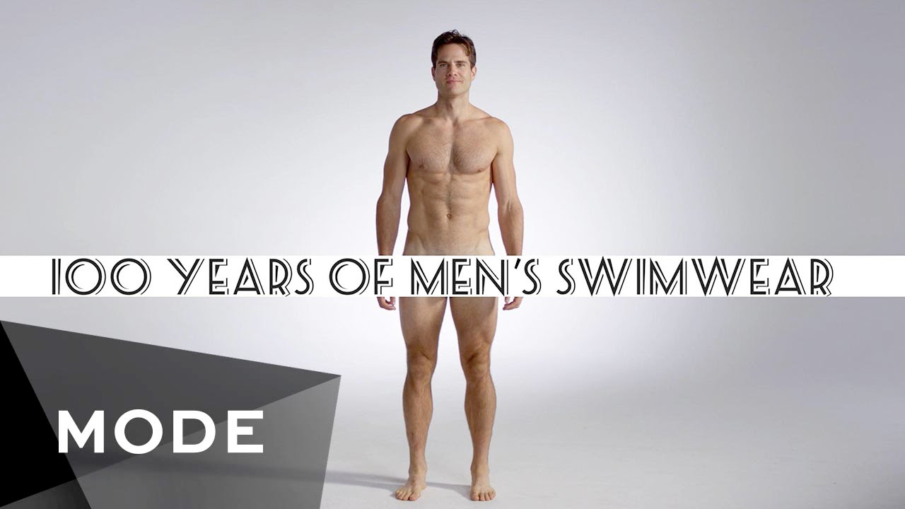 97c71beb5e 100 Years of Fashion: Men's Swimwear ☆ Glam.com - YouTube