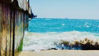 Calm/Peaceful/Therapeutic Zen ASMR Ocean Music (Piano, Wave sounds, Breeze)