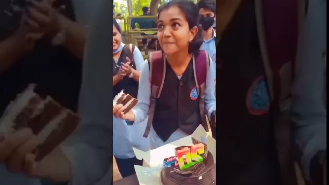 AMALASHAJI SURPRISE CAKE 🎂 CUTTING VIDEO 2021 #amalashaji #shorts