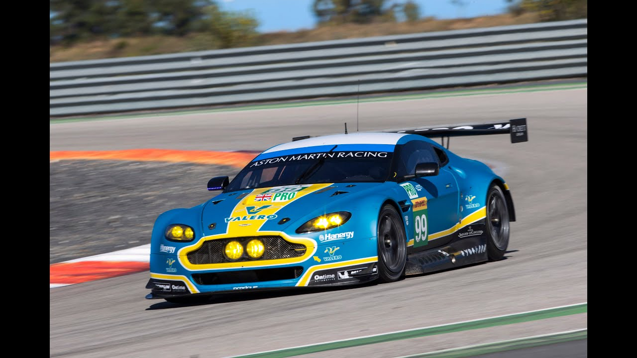 Attractive 2017 Aston Martin V8 Vantage GTE Race Car   YouTube