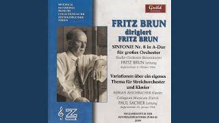 Sinfonie Nr. 8 in A-Dur für großes Orchester - IV. Allegro non troppo