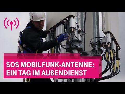 Social Media Post: SOS Mobilfunk-Antenne: ein Tag im Außendienst