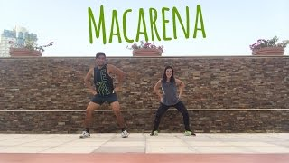 Mas Macarena by Gente De Zona Ft. Los Del Rio | Zumba® Fitness | Georgia and Masterjedai