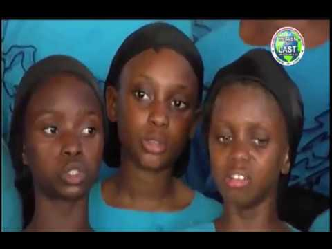 THE LORD'S CHOSEN CHILDREN CHOIR MINISTRATION