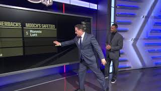 Mooch and Rod Woodson list their best cornerbacks and safeties