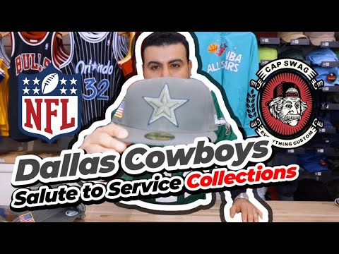 sports shoes 77e10 3f255 Dallas cowboys salute to service full collection just hit the stores!