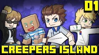Creepers Island - Épisode 1 : L'ÉQUIPE DU FUN !
