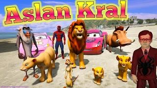 Örümcek Çocuk Aslan Kral ve Ailesini Kurtarmaya Gidiyor Çizgi Film Gibi İzle