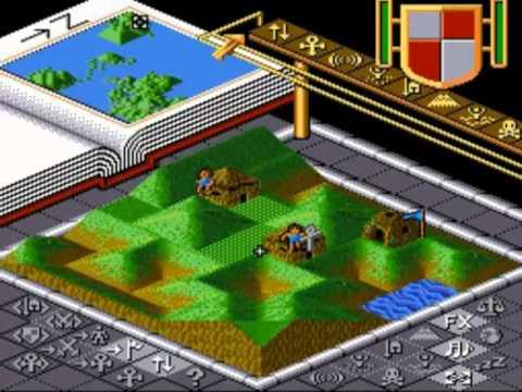 Super Nintendo Entertainment System Populous (USA)