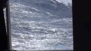 The worst of the storm, force 10, 52 knots Gale part 1
