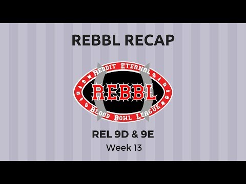 Rel 9D &9E (P)Review - Week 13