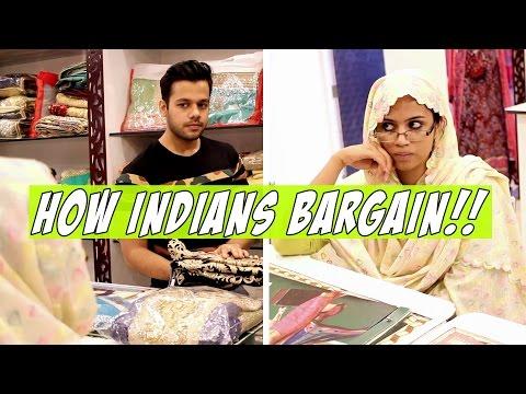 How Indians Bargain!!
