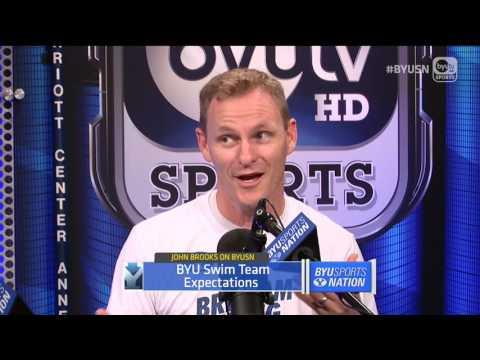 SWIM/DIVE Coach John Brooks in Studio!