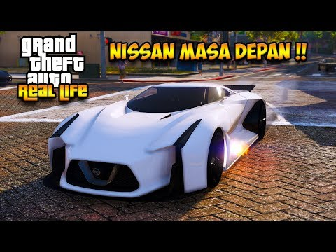 SULTAN BELI MOBIL NISSAN MASA DEPAN !!! || GTA 5 MOD DUNIA NYATA (GTA  5 REAL LIFE) thumbnail