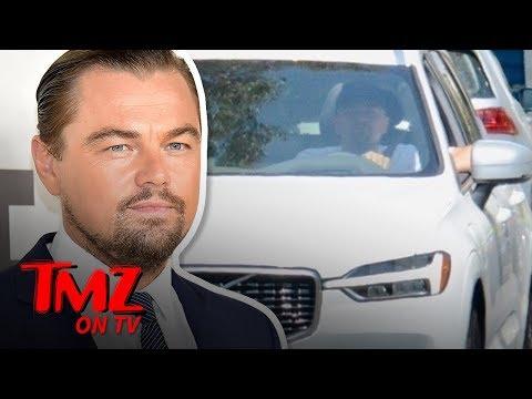 Leonardo DiCaprio Cruises L.A. Like a True Volvo Environmentalist | TMZ TV