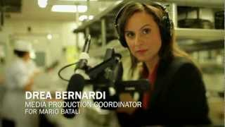 Featured Monster.com Success Story -- Drea Bernardi, Media Production Coordinator for Mario Batali