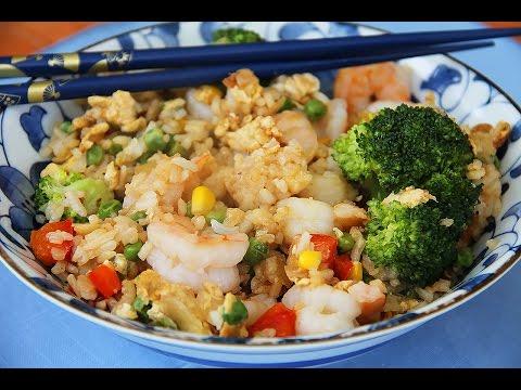 с морепродуктами рецепт с рис по-китайски фото