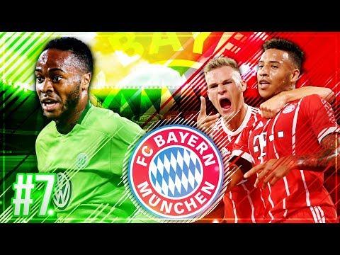 KIMMICH kehrt ZURÜCK!?? 😍😱 WTF STERLING bei WOLFSBURG!!! 🔥🔥  - FIFA 18 FC Bayern Karriere #7
