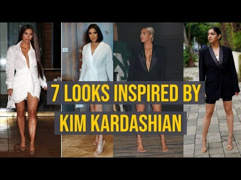 7 Looks Inspired By Kim Kardashian   Shonima Kaul