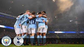 Manchester City Vs Tottenham Hotspur - 4 : 1 EPL Highlights & Goals ( 16 December 2017 )