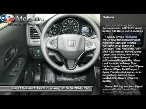 2016 HONDA HR V Irving TX GM755032. David McDavid ...