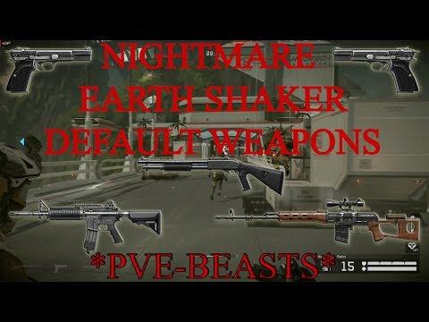 WF: PVE-BEASTS farm default weapons in NM ES   Medic gameplay +tips in nightmare earth shaker