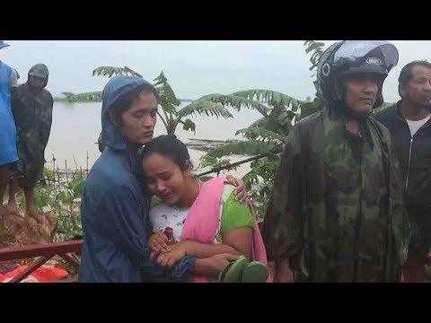 ミャンマー大雨、土砂崩れ 濁流に村は飲み込まれた