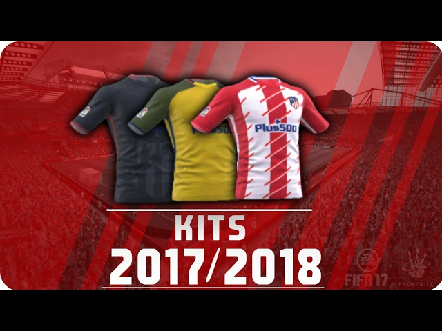 equipacion del atletico de madrid para dream league soccer 2018